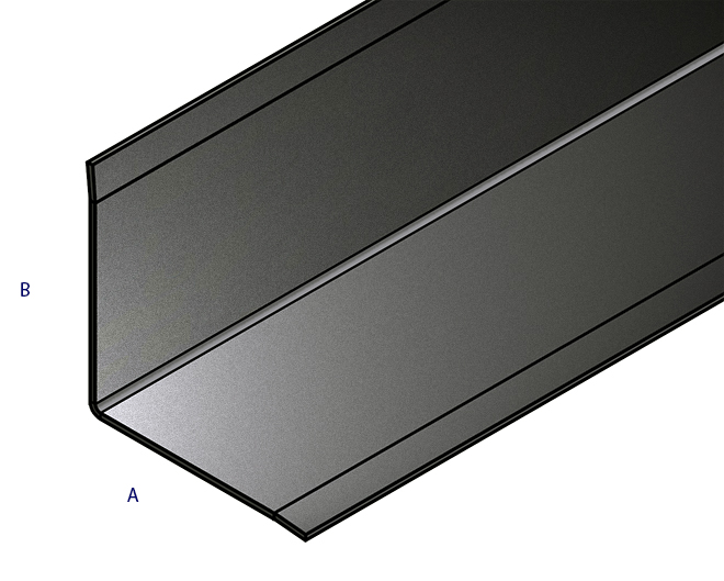 edelstahl abschlussleiste sockelblende 15x45x1000mm 3fach gekantet spiegeloptik ebay. Black Bedroom Furniture Sets. Home Design Ideas