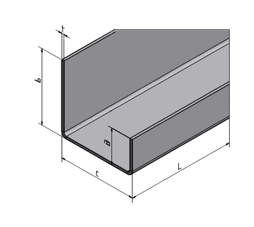 set 2 teilig glashalter glasschiene einfassprofil f r 8 mm glas 1 0mm ebay. Black Bedroom Furniture Sets. Home Design Ideas
